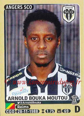 2015-16 - Panini Ligue 1 Stickers - N° 032 - Arnold BOUKA MOUTOU (SCO Angers)