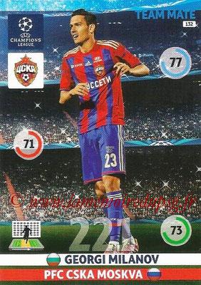2014-15 - Adrenalyn XL champions League N° 132 - Georgi  MILANOV (PFC CSKA Moscou)