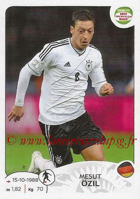 2014 - Panini Road to FIFA World Cup Brazil Stickers - N° 048 - Mesut OZIL (Allemagne)