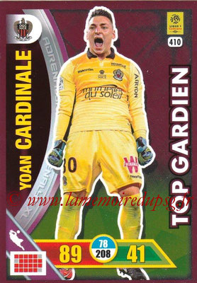 2017-18 - Panini Adrenalyn XL Ligue 1 - N° 410 - Yoan CARDINALE (Nice) (Top Gardien)