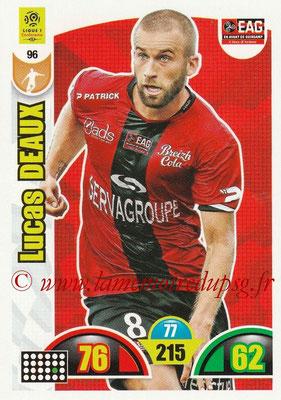 2018-19 - Panini Adrenalyn XL Ligue 1 - N° 096 - Lucas DEAUX (Guingamp)