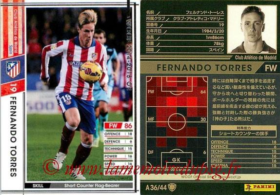 2013-14 - WCCF - N° A36 - Fernando TORRES (Atletico Madrid)