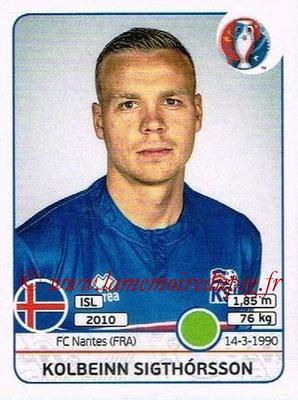 Panini Euro 2016 Stickers - N° 627 - Kolbeinn SIGTHORSSON (Islande)