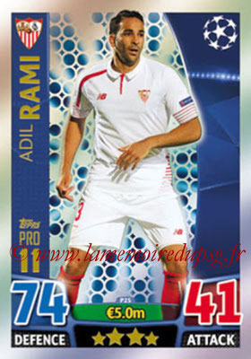 2015-16 - Topps UEFA Champions League Match Attax - N° P25 - Adil RAMI (FC Seville) (Pro 11)