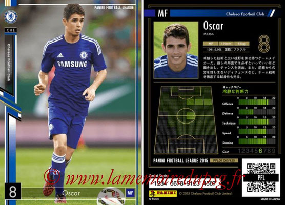 Panini Football League 2015 - PFL09 - N° 066 - OSCAR (Chelsea FC)