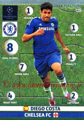 2014-15 - Adrenalyn XL champions League N° NE12 - Diego COSTA (Chelsea FC) (Goal machine)