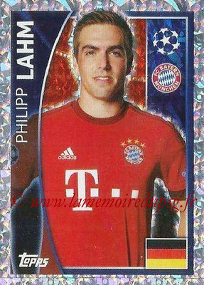 2015-16 - Topps UEFA Champions League Stickers - N° 381 - Philipp LAHM (FC Bayern Munich)