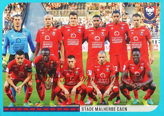 2016-17 - Panini Ligue 1 Stickers - N° 130 - Equipe Caen