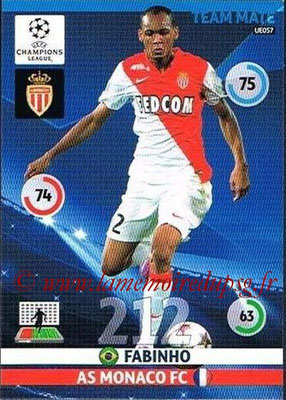 2014-15 - Adrenalyn XL champions League Update edition N° UE057 - FABINHO (AS Monacoy