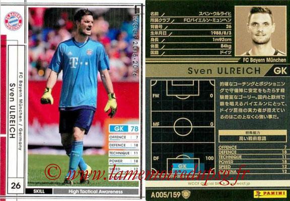 2015-16 - Panini WCCF - N° A005 - Sven ULREICH (FC Bayern Munich)