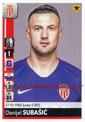 2018-19 - Panini Ligue 1 Stickers - N° 228 - Daniel SUBASIC (Monaco)