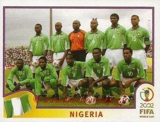 2002 - Panini FIFA World Cup Stickers - N° 403 - Equipe Nigéria