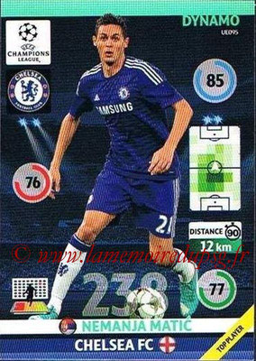 2014-15 - Adrenalyn XL champions League Update edition N° UE095 - Nemanja MATIC (Chelsea FC) (Dynamo)