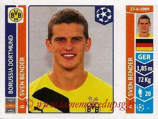 2014-15 - Panini Champions League N° 276 - Sven BENDER (Borussia Dortmund)