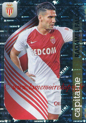 2018-19 - Panini Ligue 1 Stickers - N° 247 - Radamel FALCAO (Monaco) (Capitaine)