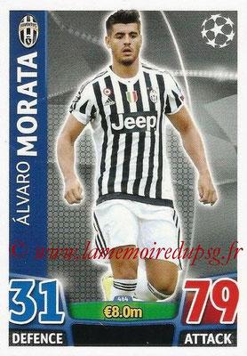 2015-16 - Topps UEFA Champions League Match Attax - N° 464 - Alvaro MORATA (Juventus FC)