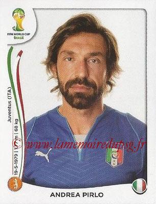 2014 - Panini FIFA World Cup Brazil Stickers - N° 327 - Andrea PIRLO (Italie)