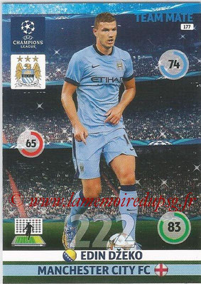 2014-15 - Adrenalyn XL champions League N° 177 - Edin DZEKO (Manchester City FC)