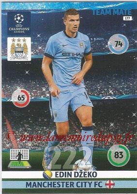 2014-15 - Adrenalyn XL champions League N° 177 - Edin DZEKO (Manchester City FC)