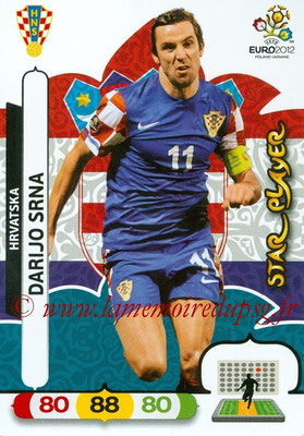 Panini Euro 2012 Cards Adrenalyn XL - N° 111 - Darijo SRNA (Croatie) (Star Player)