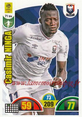 2018-19 - Panini Adrenalyn XL Ligue 1 - N° 071 bis - Casimir NINGA (Caen)