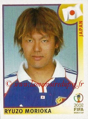 2002 - Panini FIFA World Cup Stickers - N° 534 - Ryuzo MORIOKA (Japon)