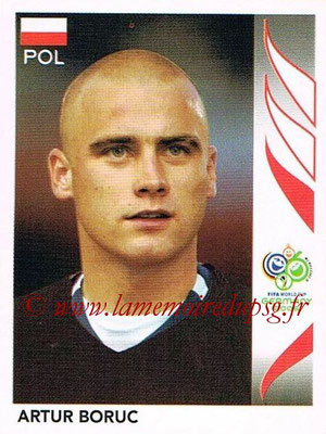 2006 - Panini FIFA World Cup Germany Stickers - N° 057 - Artur BORUC (Pologne)