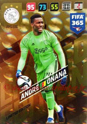 2017-18 - Panini FIFA 365 Cards - N° LE-AO - André ONANA (AFC Ajax) (Limited Edition)