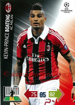 2012-13 - Adrenalyn XL champions League N° 156 - Kévin-Prince BOATENG (Milan AC)