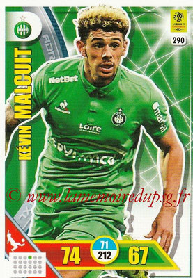 2017-18 - Panini Adrenalyn XL Ligue 1 - N° 290 - Kevin MALCUIT (Saint-Etienne)