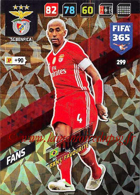 2017-18 - Panini FIFA 365 Cards - N° 299 - LUISAO (SL Benfica) (Fans' Favourite)