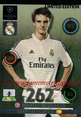 2014-15 - Adrenalyn XL champions League Update edition N° LEU-MO - Martin ODEGAARD (Real Madrid) (Limited Edition)