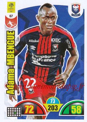 2018-19 - Panini Adrenalyn XL Ligue 1 - N° 067 - Adama MBENGUE (Caen)