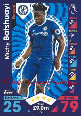 2016-17 - Topps Match Attax Premier League - N° 072