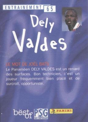 N° 065 - Julio Cesar DELY VALDES (Verso)