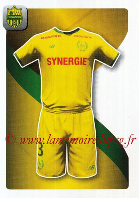 2018-19 - Panini Ligue 1 Stickers - N° 299 - Maillot Nantes
