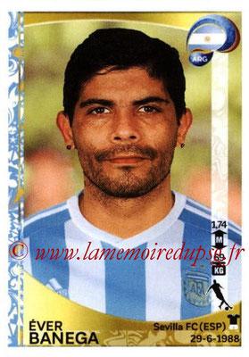 Panini Copa America Centenario USA 2016 Stickers - N° 316 - Ever BANEGA (Argentine)