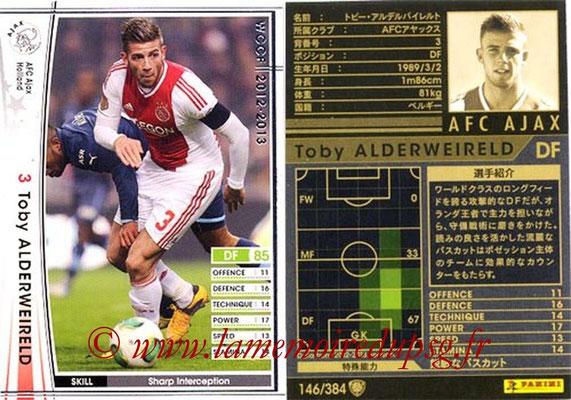 2012-13 - WCCF - N° 146 - Toby ALDERWEIRELD (AFC Ajax)
