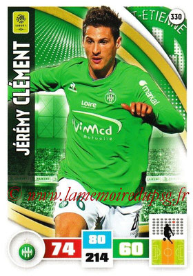 2016-17 - Panini Adrenalyn XL Ligue 1 - N° 330 - Jérémy CLEMENT (Saint-Etienne)