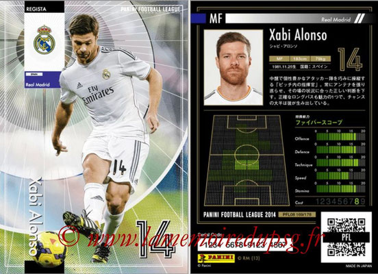Panini Football League 2014 - PFL08 - N° 169 - Xabi ALONSO (Real Madrid) (Regista)