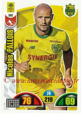 2018-19 - Panini Adrenalyn XL Ligue 1 - N° 202 - Nicolas PALLOIS (Nantes)