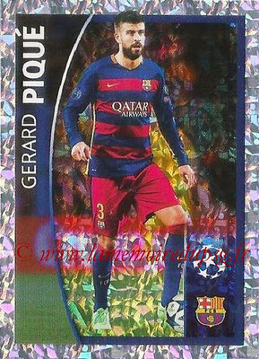 2015-16 - Topps UEFA Champions League Stickers - N° 575 - Gerard PIQUE (FC Barcelone) (Player to Watch)