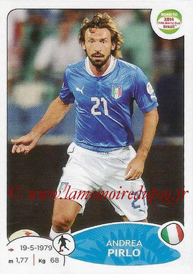 2014 - Panini Road to FIFA World Cup Brazil Stickers - N° 029 - Andrea PIRLO (Italie)
