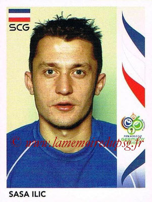 2006 - Panini FIFA World Cup Germany Stickers - N° 217 - Sasa ILIC (Serbie)