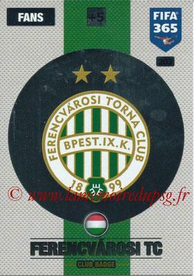 2016-17 - Panini Adrenalyn XL FIFA 365 - N° 203 - Logo Ferencvarosi TC