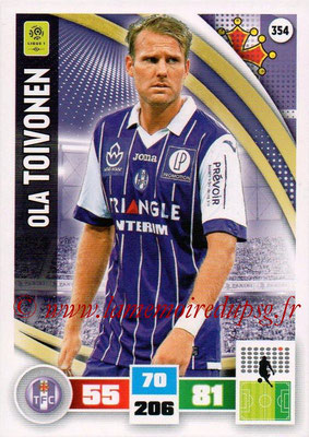 2016-17 - Panini Adrenalyn XL Ligue 1 - N° 354 - Ola TOIVONEN (Toulouse)