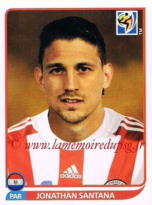 2010 - Panini FIFA World Cup South Africa Stickers - N° 443 - Jonathan SANTANA (Paraguay)