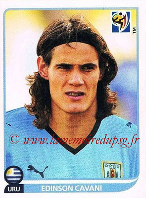 2010 - Panini FIFA World Cup South Africa Stickers - N° 083 - Edinson CAVANI (Uruguay)