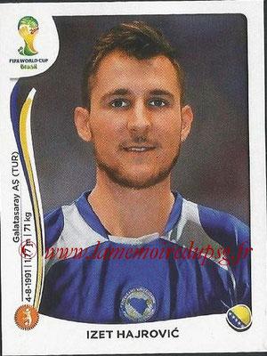 2014 - Panini FIFA World Cup Brazil Stickers - N° 447 - Izet HAJROVIC (Bosnie Herzegovine)