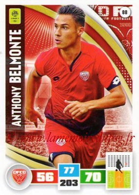 2016-17 - Panini Adrenalyn XL Ligue 1 - N° 088 - Anthony BELMONTE (Dijon)